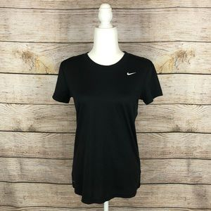 Nike Dri-Fit Black Shortsleeved T-Shirt